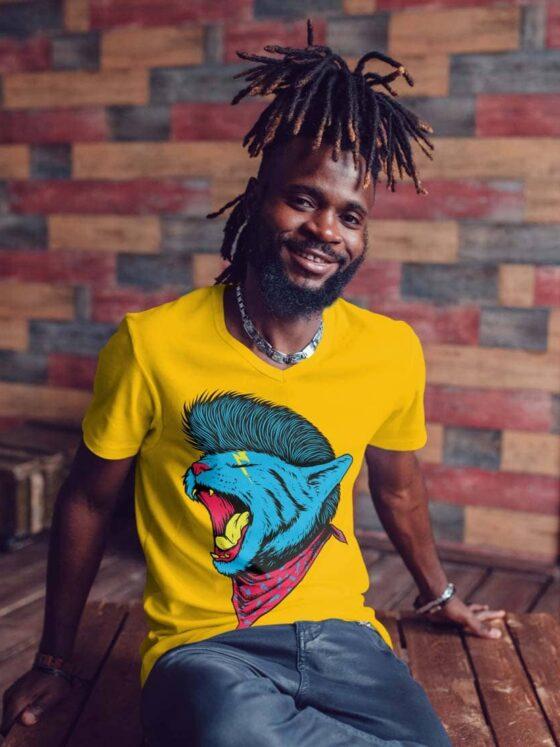 Chat Punk tee shirt Tizika