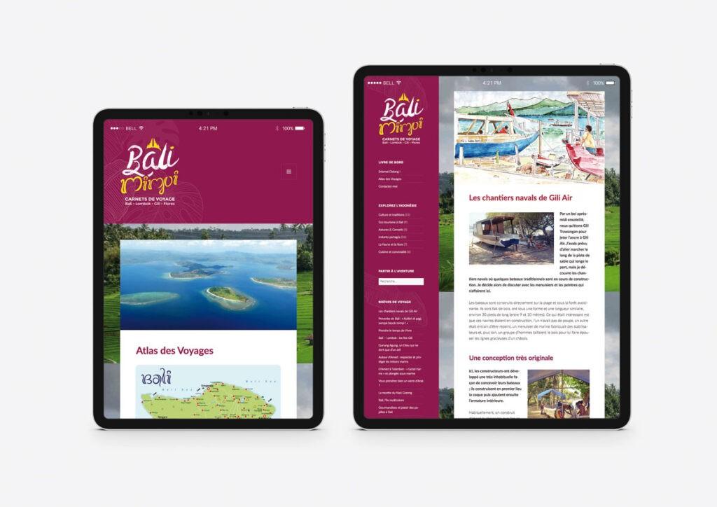 Blog de voyage Balimimpi
