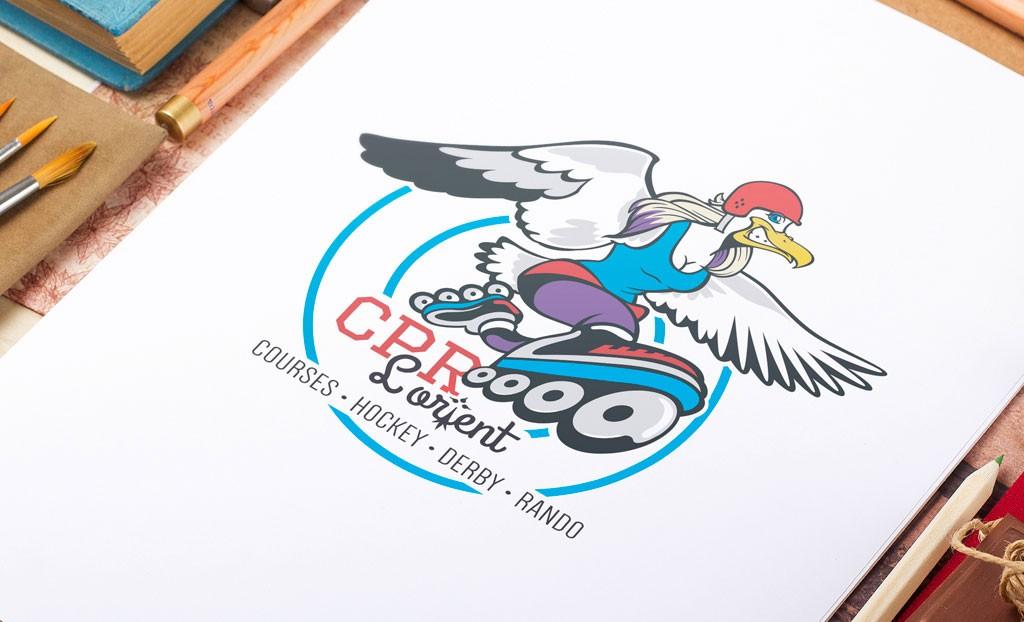 Logo Club de patinage à roulettes Lorient