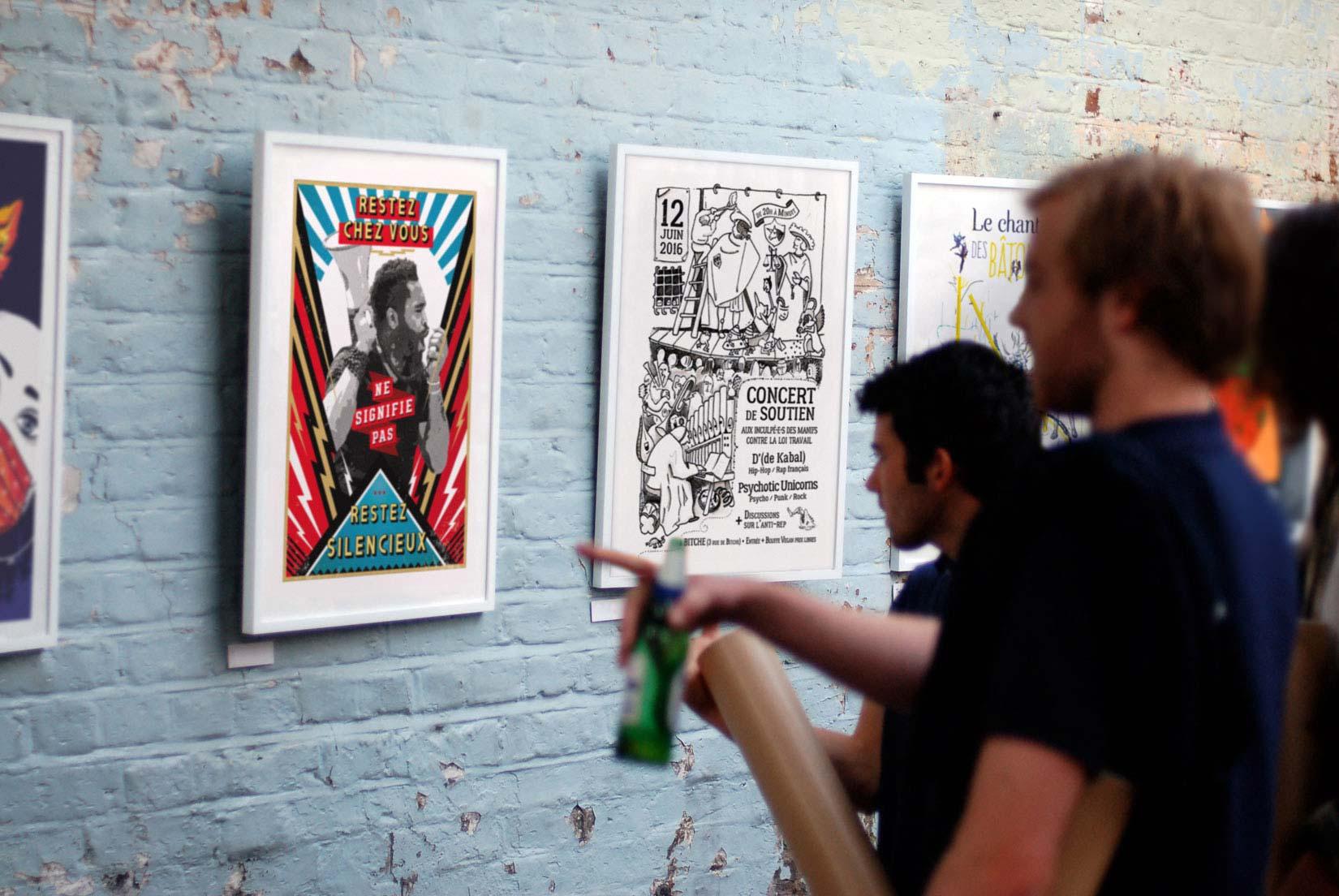 Expo affiches militantes