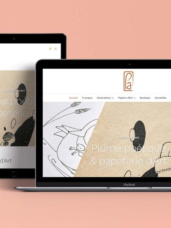 Boutique en ligne Papier Animé