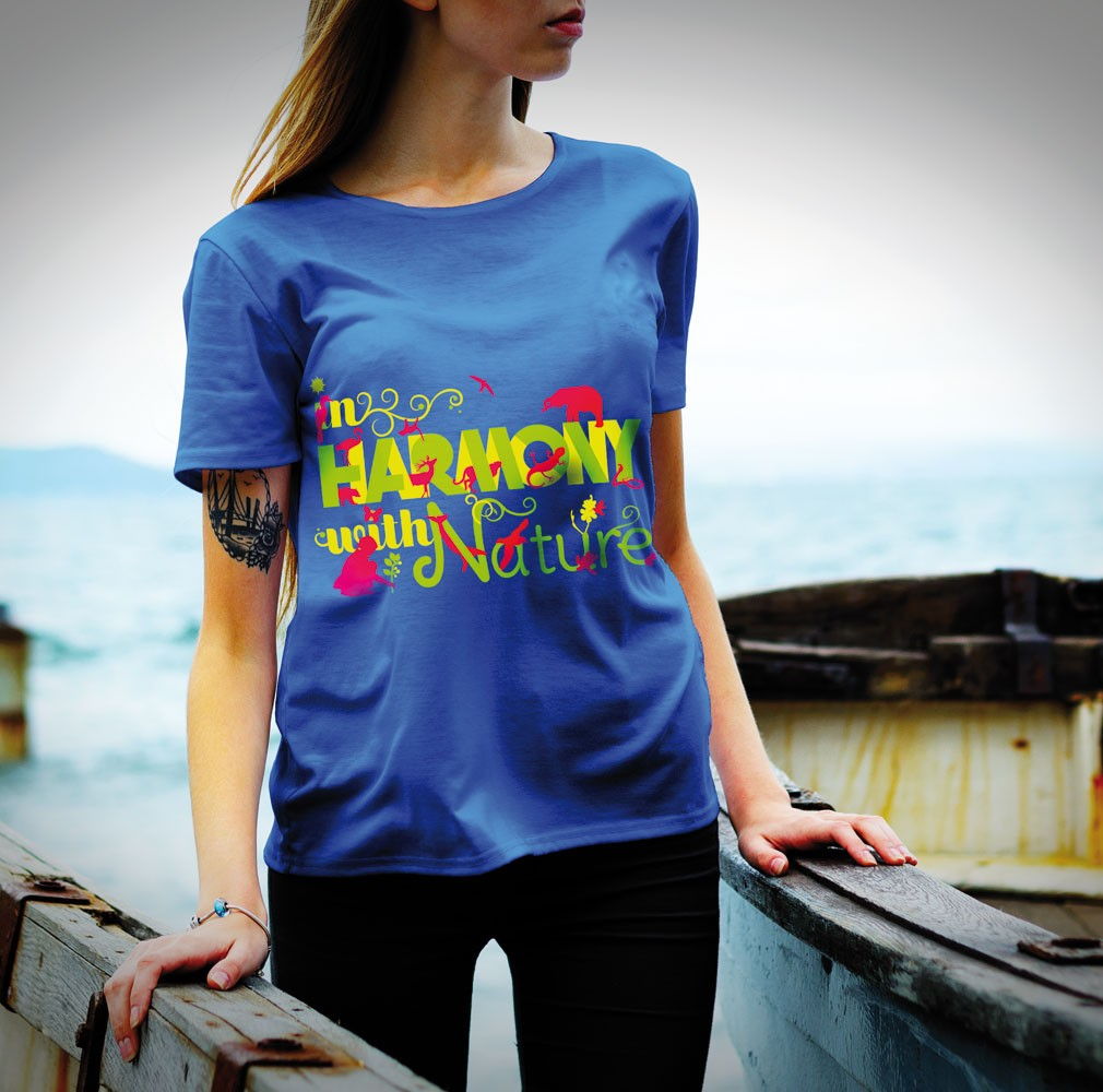 in Harmony with Nature tee shirt